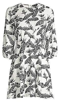 Jay Godfrey Women's Jean Printed Shift Dress - Size 0