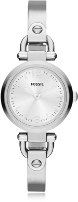 Fossil Georgia Mini Stainless Steel Women's Watch $105 thestylecure.com