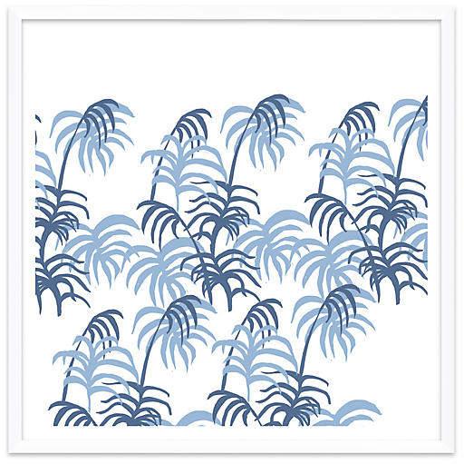Blue Palm - Dana Gibson 37