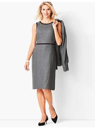 Talbots Italian Luxe Tweed Sheath Dress