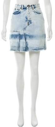 Golden Goose Denim Knee-Length Skirt w/ Tags
