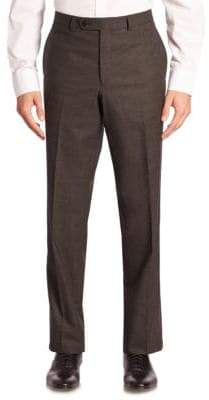 Jack Victor COLLECTION Tonal Micro Wool Dress Pants