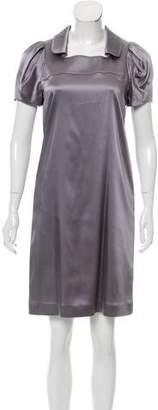 Burberry Satin Knee-Length Dress