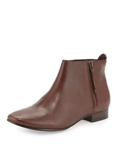 Cole Haan Cole Haan Belmont Leather Bootie, Chestnut