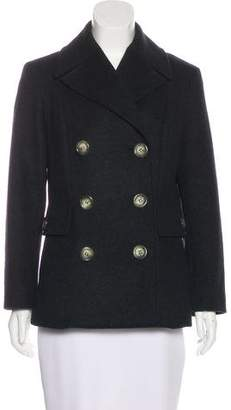 Celine Virgin Wool Double-Breasted Jacket