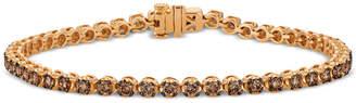 LeVian Le Vian Chocolatier Diamond Tennis Bracelet (2-3/4 ct. t.w.) in 14k Rose Gold