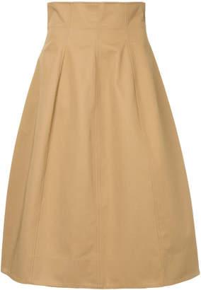 Le Ciel Bleu high waisted full skirt