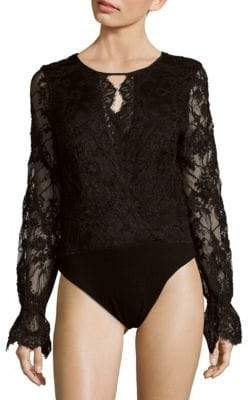 Stone_Cold_Fox Long-Sleeve Lace Bodysuit