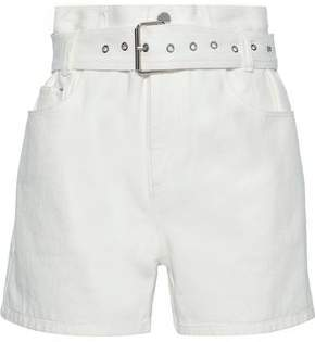3.1 Phillip Lim Belted Denim Shorts