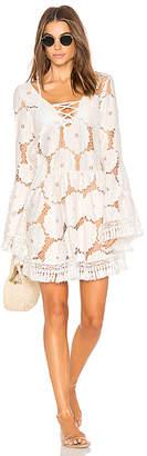 Luli Fama Laced Up Dress