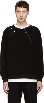 99% Is Black 3 Zip Sweatshirt