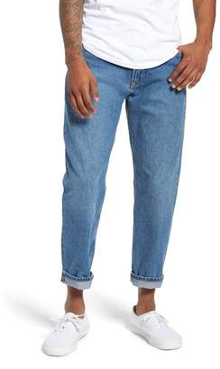 Tommy Jeans Randy Relaxed Crop Jeans (Mid Blue Rigid)