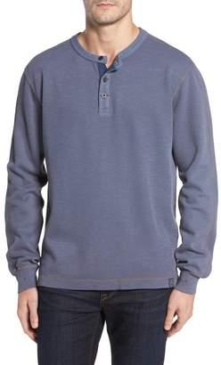 Thaddeus Collection Hans Long Sleeve Henley T-Shirt