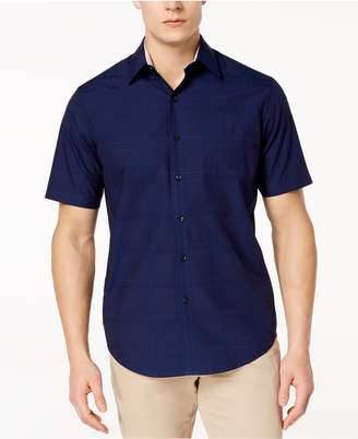 Tasso Elba Men's Textured Shirt, Created for Macy's