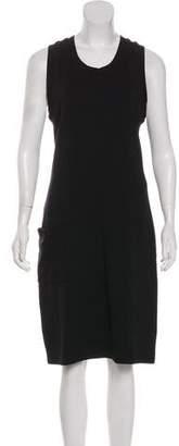 Y-3 Sleeveless Knee-Length Dress