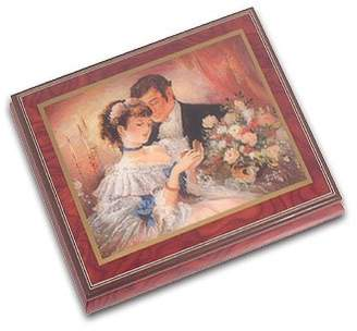 "Ercolano MusicBoxAttic ""A Token Of Love Musical Jewelry Box, Music Selection - I'd Like to Teach the World to Sing"