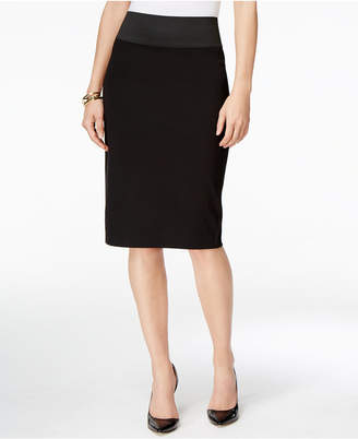 Inc International Concepts Curvy-Fit Pencil Skirt, Only at Macy's $59.50 thestylecure.com