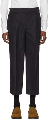 TOMORROWLAND Blue Tropical Hook Trousers