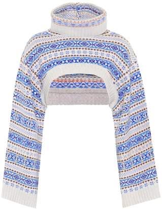 Stella McCartney Cropped wool sweater