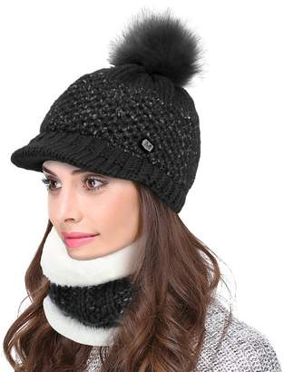 e51164dc644 at Amazon Canada · Vbiger 3-Pieces Winter Hat Scarf Mask Set