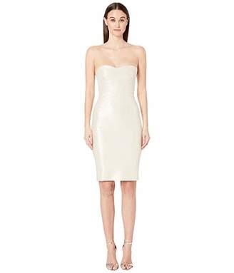 e2ba0c04d37d Zac Posen Champagne Jacquard Party Dress