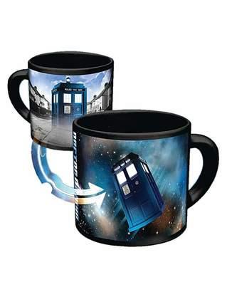 Doctor Who Tardis Heat Reveal Mug