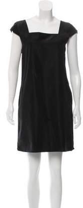 Marc Jacobs Short Sleeve Mini Dress Black Short Sleeve Mini Dress