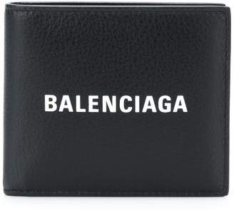 Balenciaga everyday square wallet