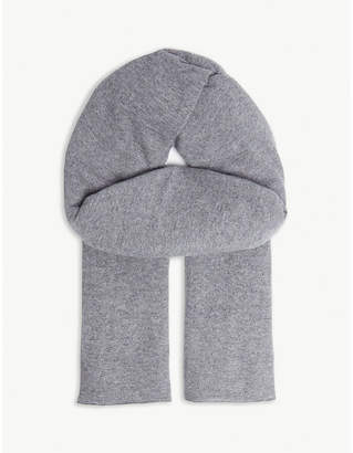 LOU DUNGATE Cashmere blanket scarf