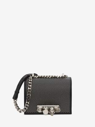 Alexander McQueen Small Jewelled Satchel