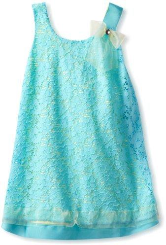 Bonnie Jean Girls 2-6X Lace Shift Dress