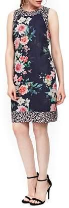 Wallis Peony Print Tank Dress