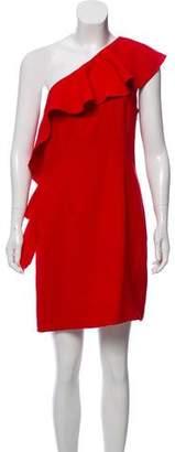 Rachel Zoe One-Shoulder Mini Dress