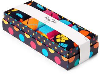 Happy Socks 4-Pack Big Dot Sock Gift Box