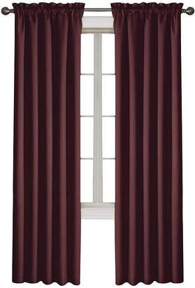 Eclipse Corinne Rod-Pocket Blackout Curtain Panel