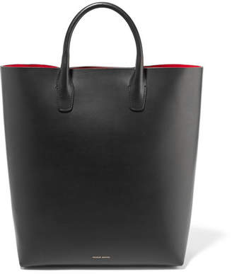 Mansur Gavriel Leather Tote - Black