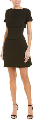 Pinko Dolman-Sleeve Mini Dress