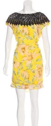 Miguelina Sleeveless Silk Dress w/ Tags