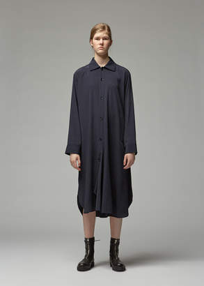 Yohji Yamamoto Y's By Draped Shirt Dress