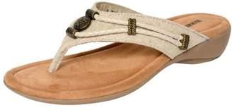 Minnetonka Womens Silverthorne Thong Sandal