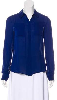 ICB Silk Long Sleeve Blouse
