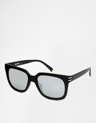 AJ Morgan Square Sunglasses in Matte Black Finish $19.50 thestylecure.com