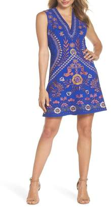Foxiedox Artemesia Cutout Back Minidress