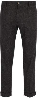 J.w.brine J.W. Brine J.w. Brine - New Marshall Straight Leg Wool Blend Trousers - Mens - Black