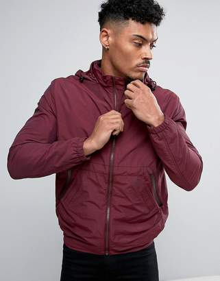 French Connection Lightweight Harrington Jacket With Hood