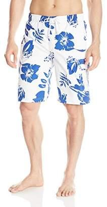 U.S. Polo Assn. Men's Metallic Flower Board Shorts
