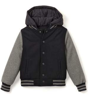 La Redoute Collections Hooded Bomber Jacket 3-12 Years