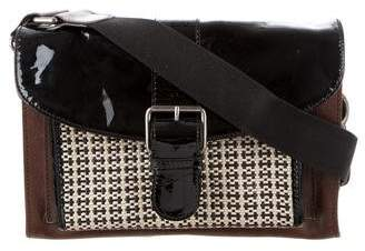 Marni Distressed Leather Crossbody Bag