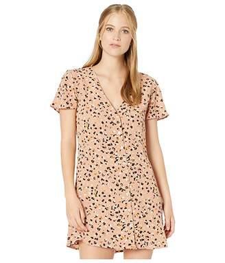 RVCA Pebble Button-Up Dress