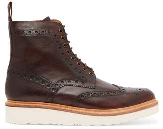 Grenson - Fred Leather Boots - Mens - Brown